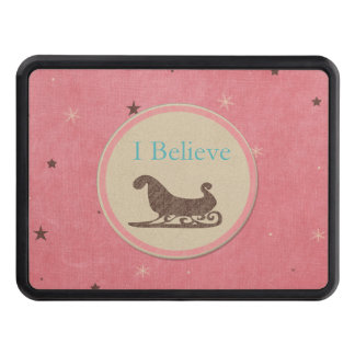 I believe Santa Sleigh Pink Stars Trailer Hitch Cover