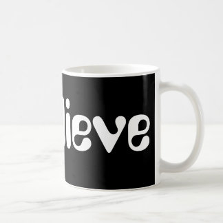 I Believe Sitting Alien Coffee Mug