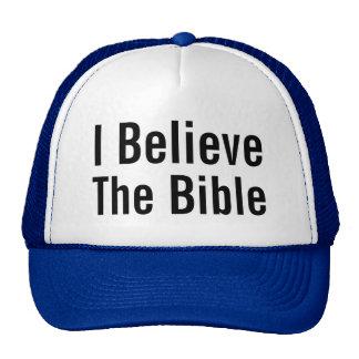 I Believe The Bible Trucker Hat