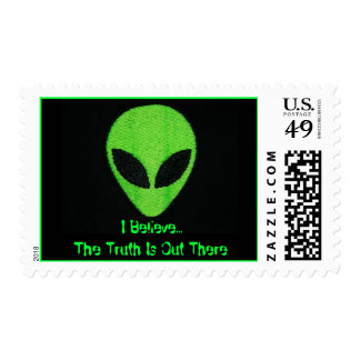 I Believe...The Truth Is Out There Postage