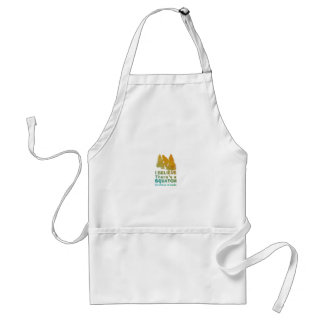 I believe there's a SQUATCH in these woods Adult Apron