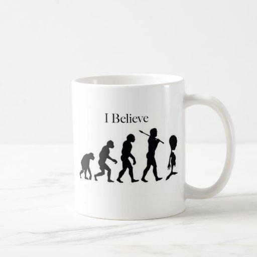 I Believe - UFO Basic White Mug