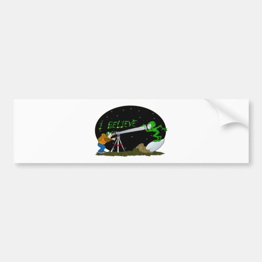 I Believe.... UFO'S Bumper Sticker