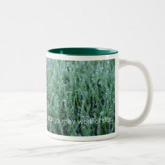I believe - Walt Whitman Two-Tone Coffee Mug