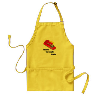 I believe you have my stapler office space adult apron