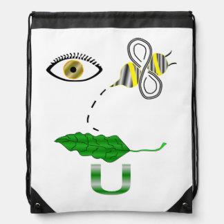 I Believe You Rebus Drawstring Bag