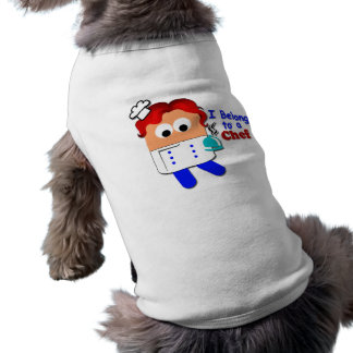 """I Belong to A Chef"" Pet Clothing"