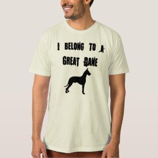 i belong to a great dane shirt