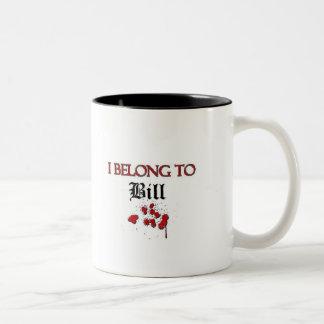 I Belong to Bill Two-Tone Coffee Mug