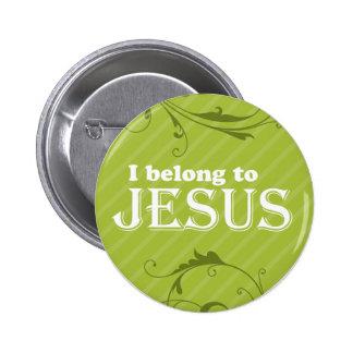 I Belong To Jesus Pinback Button