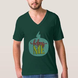 I Belong to Me Forest Green Unisex V-Neck T-Shirt