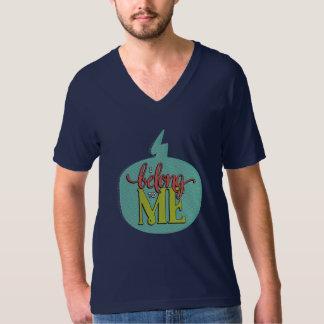 I Belong to Me Navy Unisex V-Neck T-Shirt