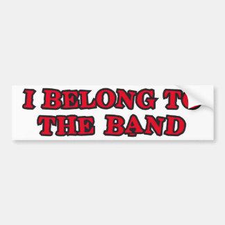 I Belong ton the bound Bumper Sticker
