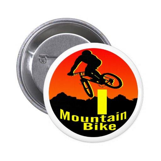 I bici de montaña pin