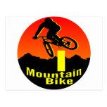 I bici de montaña postal