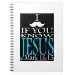 I bigote si usted conoce a Jesús Libros De Apuntes