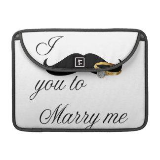 I bigote usted - casarme fundas para macbooks