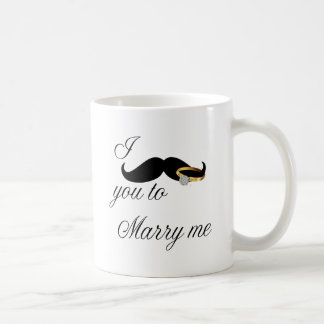I bigote usted - casarme tazas de café