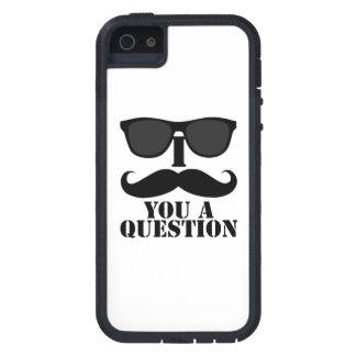 I bigote usted gafas de sol de una pregunta iPhone 5 carcasa