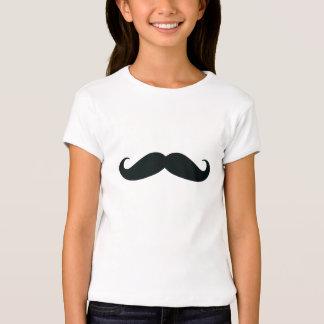 I bigote usted una camiseta de los chicas de la