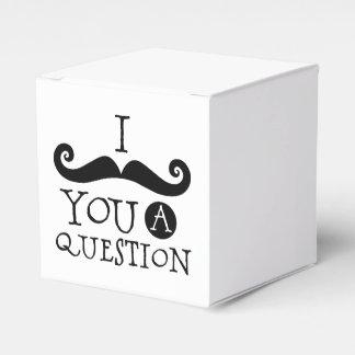 I bigote usted una pregunta caja para regalos