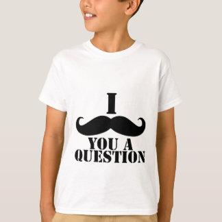 I bigote usted una pregunta playera
