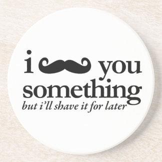 I bigote usted una pregunta posavaso para bebida