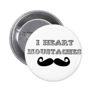 I bigotes del corazón pins