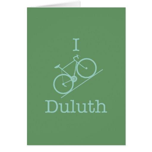 I Bike Duluth Card
