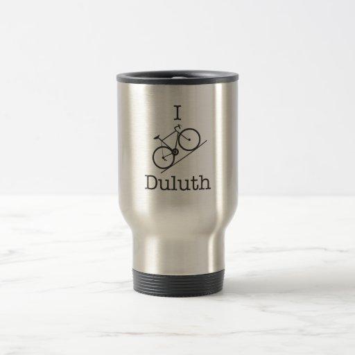 I Bike Duluth Coffee Mugs