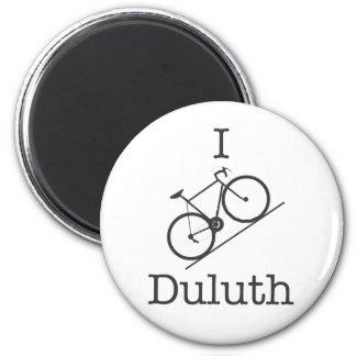 I Bike Duluth Refrigerator Magnets