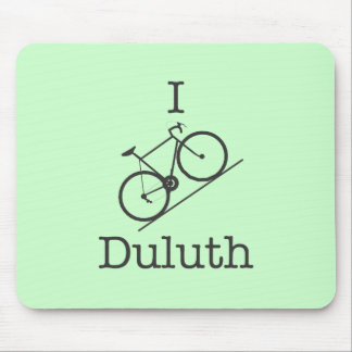 I Bike Duluth Mousepads