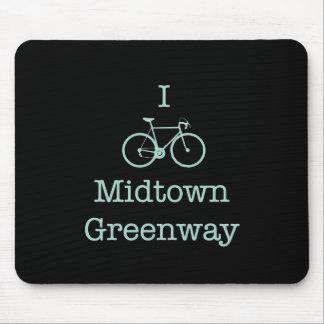 I Bike Midtown Greenway Mouse Pads