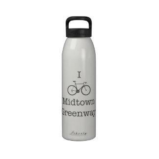 I Bike Midtown Greenway Water Bottle