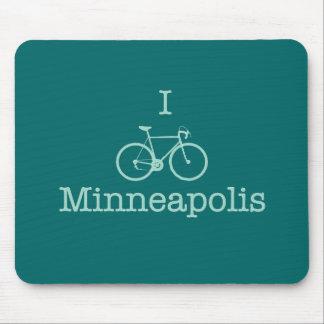 I Bike Minneapolis Mousepads
