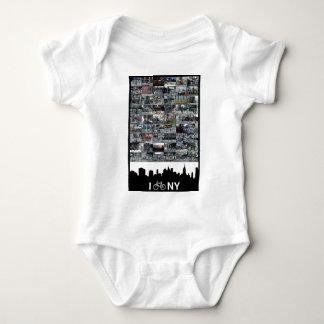 i bike NY Baby Bodysuit