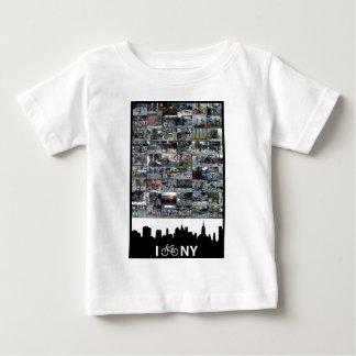 i bike NY Baby T-Shirt