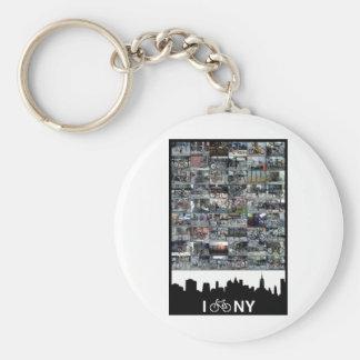 i bike NY Keychain
