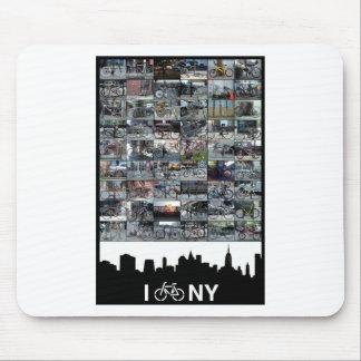 i bike NY Mouse Pad