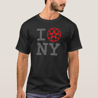 I Bike NY - New York City Bicyclist T-Shirt