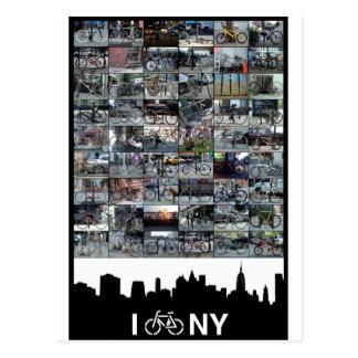i bike NY Postcard