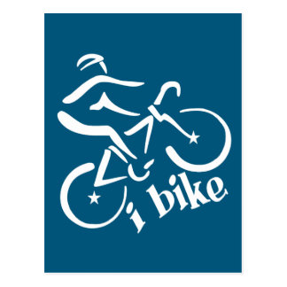 I BIKE postcard, customize