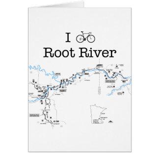 I Bike Root River Card