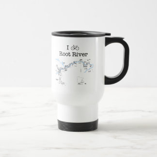 I Bike Root River Travel Mug