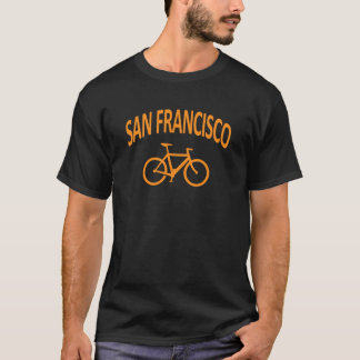 I Bike San Francisco - Fixie Bike Design T-Shirt
