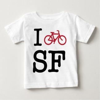 I bike SF (custom SF biking) Baby T-Shirt
