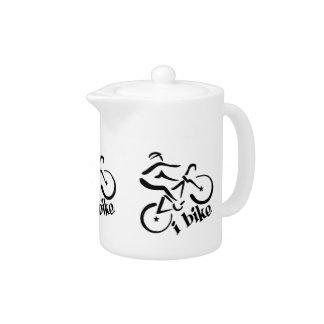 i Bike teapot