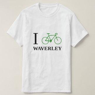 I Bike WAVERLEY (Green Bicycle Icon) T-Shirt