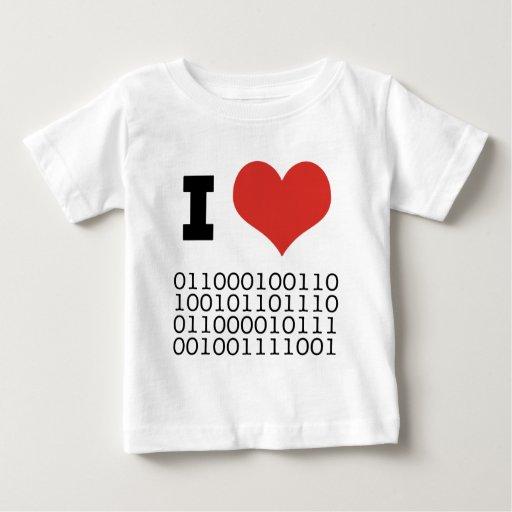 I binario del corazón tee shirt