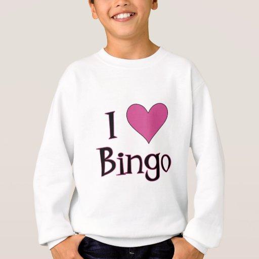 I bingo del corazón sudadera
